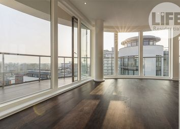 Thumbnail 3 bed flat for sale in Masson House, Pump House Crescent, Kew Bridge
