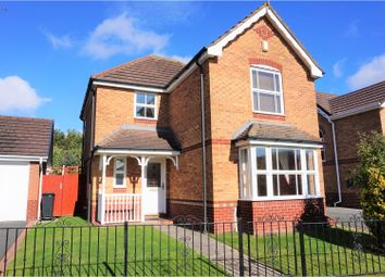 Thumbnail 3 bed detached house for sale in Breamore Crescent, Dudley