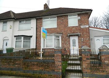 Thumbnail 4 bed end terrace house for sale in Morningside Road, Norris Green, Liverpool