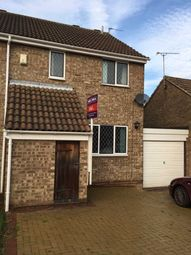 Thumbnail 3 bed semi-detached house to rent in Brackenfield Way, Thurmaston, Leicester