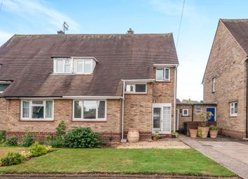 Thumbnail 3 bed semi-detached house for sale in Churchill Way, Moss Pit, Stafford