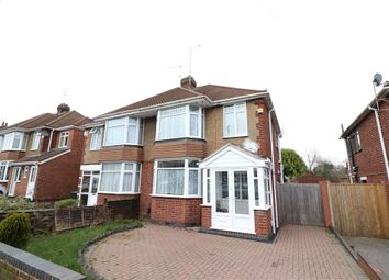 Thumbnail 3 bed semi-detached house for sale in Arnold Avenue, Styvechale, Coventry, West Midlands