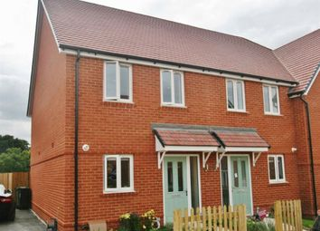 Thumbnail 2 bed terraced house to rent in Saunders Way, Basingstoke, Hampshire