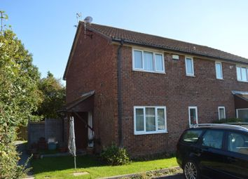 Thumbnail 1 bed end terrace house for sale in Saxby Close, Worle, Weston-Super-Mare