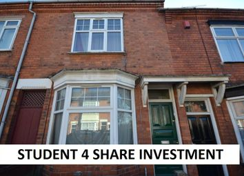 Thumbnail 3 bed terraced house for sale in Thurlow Road, Leicester