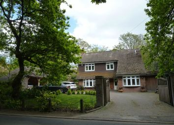 Thumbnail 4 bed detached house to rent in Salisbury Road, Winkton, Christchurch