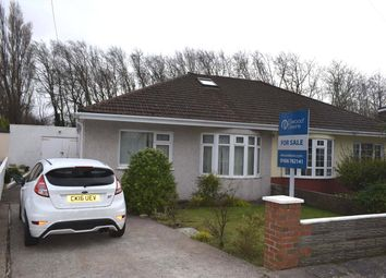Thumbnail 2 bed semi-detached bungalow for sale in St Johns Drive, Newton, Porthcawl