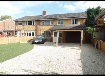Thumbnail 4 bed semi-detached house for sale in Abbotsfield, Totton, Southampton