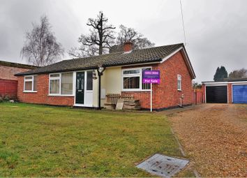 Thumbnail 4 bed detached bungalow for sale in Castle Close, Brandon