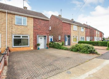 Thumbnail 2 bed semi-detached house for sale in Malvern Road, Gunthorpe, Peterborough