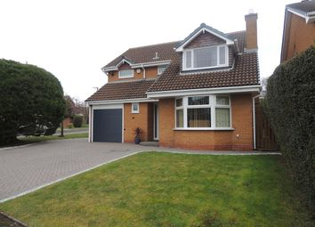 Thumbnail 4 bed detached house for sale in Bridge Meadow Drive, Knowle, Solihull