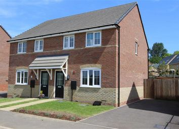 Thumbnail 3 bed semi-detached house for sale in Cowley Meadow Way, Crick, Northampton