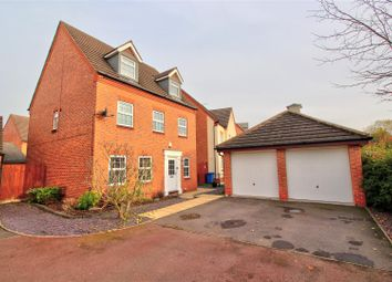Thumbnail 5 bed detached house for sale in Hewitt Close, Fradley, Lichfield