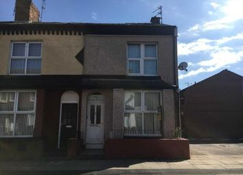 Thumbnail 2 bed end terrace house for sale in 44 Shelley Street, Bootle, Merseyside