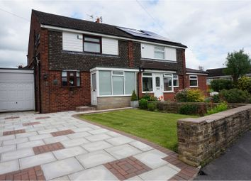 Thumbnail 3 bedroom semi-detached house for sale in Churchill Crescent, Marple