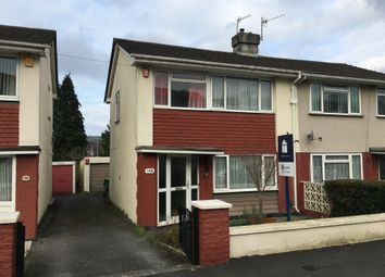 Thumbnail 3 bed town house to rent in Dudley Road, Plympton, Plymouth