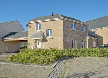 Thumbnail 3 bed link-detached house for sale in The Runnells, St. Neots