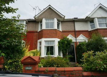 Thumbnail 3 bed terraced house for sale in Station Road, Caerleon, Newport