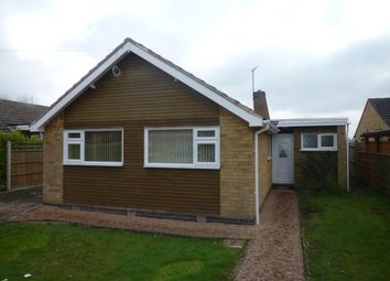 Thumbnail 3 bedroom bungalow to rent in Gorse Lane, Oadby