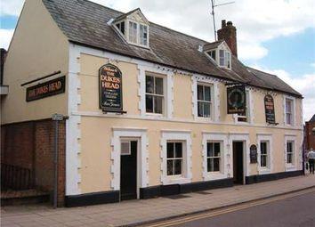 Thumbnail Restaurant/cafe for sale in Dukes Head, 8, Church Terrace, Wisbech