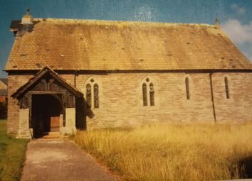 Thumbnail Leisure/hospitality for sale in Former St.John's Church, Libanus, Brecon