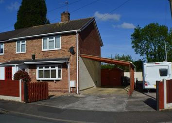 Thumbnail 3 bed semi-detached house for sale in Glebe Road, Handsacre, Staffordshire