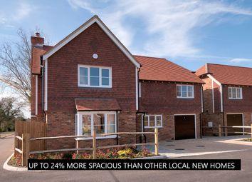 Thumbnail 4 bed detached house for sale in Fishers Road, Staplehurst, Tonbridge