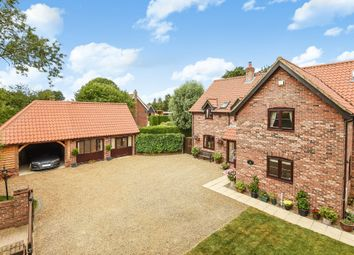 Thumbnail 4 bed detached house for sale in The Close, Watton Road, Stow Bedon, Attleborough