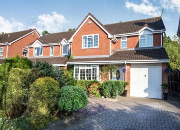 Thumbnail 4 bedroom detached house for sale in Cottage Close, Longton, Stoke-On-Trent