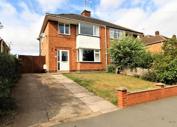 Thumbnail 3 bed semi-detached house for sale in Fleet Crescent, Hillmorton, Rugby