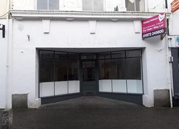 Thumbnail Retail premises for sale in 54-55 Causewayhead, Penzance, Cornwall