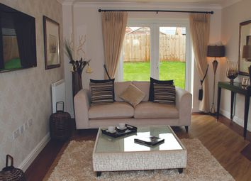 Thumbnail 3 bed detached house for sale in The Hassop, Burton Road Tutbury, Staffordshire