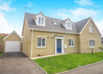 Thumbnail 2 bedroom semi-detached house for sale in Ellerby Drive, Wisbech