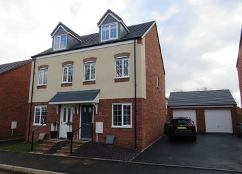 Thumbnail 3 bed semi-detached house for sale in Hatherway Close, Penkridge, Stafford