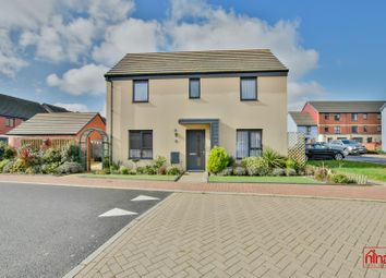 Thumbnail 3 bed detached house for sale in Mariners Walk, Barry