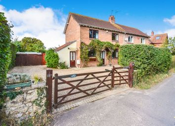 Thumbnail 3 bedroom semi-detached house for sale in Comeytrowe Road, Trull, Taunton
