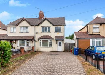 Thumbnail 3 bedroom semi-detached house for sale in Walsall Road, Cannock, Staffordshire, Na