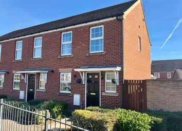Thumbnail 2 bed end terrace house for sale in Olive Drive, Scunthorpe