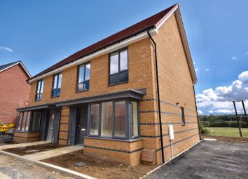 Thumbnail 3 bed semi-detached house for sale in Little Colliers Field, Great Oakley, Corby