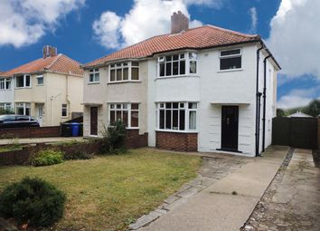 Thumbnail 3 bedroom semi-detached house for sale in Higher Drive, Lowestoft