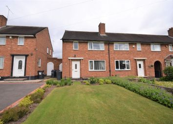 Thumbnail 2 bed end terrace house for sale in Brownfield Road, Birmingham