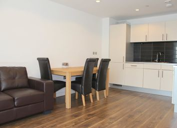 Thumbnail 1 bed flat to rent in Media City, No 1 Pink, Salford Quays