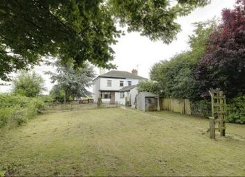 Thumbnail 2 bedroom semi-detached house for sale in Postland Station Cottages, Postland, Crowland, Peterborough