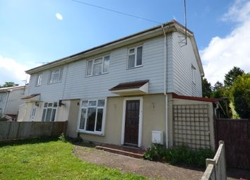 Thumbnail 4 bed semi-detached house to rent in Walpole Road, Stanmore, Winchester, Hampshire