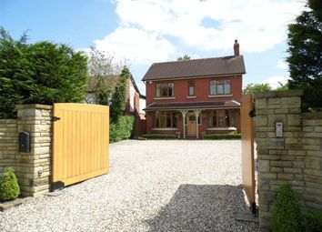 Thumbnail 4 bed detached house to rent in Crewe Road, Haslington, Crewe