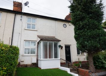 Thumbnail 2 bed terraced house for sale in Chesterfield Road, Lichfield