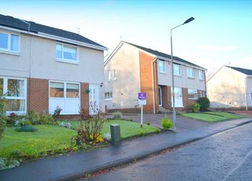Thumbnail 2 bed semi-detached house for sale in Langlea Avenue, Cambuslang, Glasgow