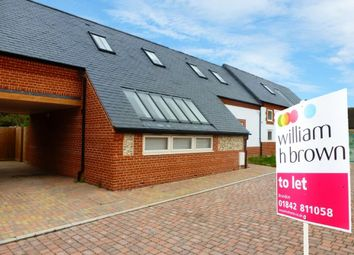 Thumbnail 3 bed terraced house to rent in Hall Farm Close, Feltwell, Thetford