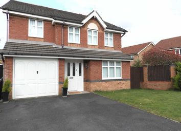 Thumbnail 4 bed detached house for sale in Shakespeare Avenue, Kirkby, Liverpool