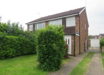 Thumbnail 3 bed semi-detached house to rent in Westfield Road, Sawtry, Huntingdon